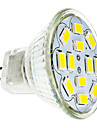 6W GU4(MR11) Точечное LED освещение 12 SMD 5730 570 lm Тёплый белый / Холодный белый DC 12 V
