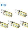 5 pcs G9 3W 48 SMD 2835 250 LM Warm White / Cool White T LED Corn Lights AC 220-240 V