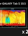 2 pcs ultra claro hd lcd protetor de tela guarda cobertura filme com pano de limpeza para samsung galaxy tab 10.5 s t800