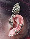 Earring Ear Cuffs Jewelry Women Alloy 2pcs Silver