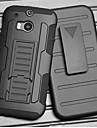 armadura resistência cinta de aperto queda jaqueta protetora com suporte e clipe para HTC One m8
