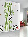 милые панды ПВХ стикер стены