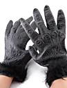 Handschuhe Cosplay Fest/Feiertage Halloween Kostueme Schwarz einfarbig Handschuhe Halloween Unisex