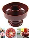 DIY плесень круглые пончики (случайный цвет)
