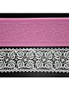 장식 네-C 베이킹 도구 엠보싱 레이스 매트 실리콘 케이크 금형, 실리콘 매트 퐁당 케이크 도구 색상 핑크