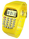 Kids\' Charm Watch Calculator Calendar Quartz Digital Candy color