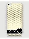 iPhone 4/4S/iPhone 4 - Per retro - per Pop art/Design/Innovativa ( Multicolore , Plastica )