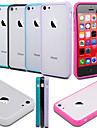 BIG D Translucent  Acrylic Back Case for iPhone 5C(Assorted Color)