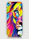 Pour Coque iPhone 5 Motif Coque Coque Arriere Coque Animal Dur Polycarbonate pouriPhone 7 Plus iPhone 7 iPhone 6s Plus/6 Plus iPhone 6s/6
