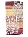 Man-eater Flower Pattern Full Body Case with Stand for iPhone 4/4S