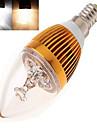 12W E14 LED лампы в форме свечи Высокомощный LED 350 lm Тёплый белый / Холодный белый AC 85-265 V 1 шт.