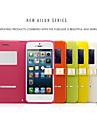 ailun® toinen ohut magneettinen läppä, nahka ikkunanäkymään tapauksessa seistä iphone 5 / 5s