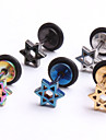 Fashion Stainless Steel   Earrings Ring Body Jewelry Piercing(Random Color)