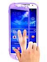 transparent flip Frivarvet handlag tpu ringer fallet för samsung S4 i9500 (blandade färger)