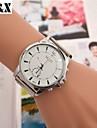 damesmode diamant aantal kwarts analoge stalen riem horloge (verschillende kleuren)