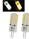 6W G4 LED Spot Lampen 64LED SMD 3014 450-600 lm Warmes Weiss / Kuehles Weiss AC 220-240 V 1 Stueck