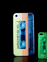 Magnetic tape Pattern Glow in the Dark Cover for iPhone 4 / iPhone 4 S Case