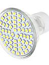 3W GU10 Точечное LED освещение 1 SMD 3528 570 lm Тёплый белый / Естественный белый AC 220-240 V 1 шт.