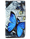 For Nokia Case Wallet / Card Holder / with Stand Case Full Body Case Butterfly Hard PU Leather Nokia Nokia Lumia 830