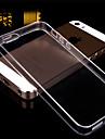 transparante achterkant van de behuizing dekking voor iPhone 5 / 5s