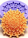 посуда силиконовые формы для выпечки цветок для помады конфеты шоколадный торт (случайные цвета)