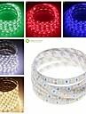 SENCART 5 M 300 5050 SMD Blanc chaud/Blanc/Rouge/Jaune/Bleu/VertEtanche/Decoupable/Telecommande/Intensite Reglable/Connectible/Pour