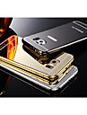 삼성 갤럭시 S6 두 -에 - 하나의 KX 브랜드 금속 프레임 아크릴 백보드 금속 하드 케이스
