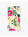 Safflower Greenery Pattern PC Phone Case Back Cover for iPhone4/4S Case