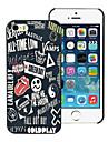 Для Кейс для iPhone 7 / Кейс для iPhone 7 Plus / Кейс для iPhone 6 / Кейс для iPhone 6 Plus / Кейс для iPhone 5 С узором Кейс дляЗадняя