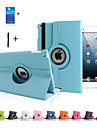 "For iPad Air 5 Rotation 360"" Back Cover Stand , Rotating Smart Case Flip Cover For iPad Air  +Screen Protector+Stylus"