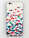For iPhone 5 Case Pattern Case Back Cover Case Heart Hard PC iPhone SE/5s/5