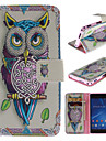 For Sony Case / Xperia Z3 Wallet / Card Holder / with Stand / Flip Case Full Body Case Owl Hard PU Leather for SonySony Xperia Z3 / Sony