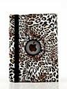 9.7-дюймовый 360 градусов вращения печати леопарда картины с подставкой случае для Ipad 2 воздуха / Ipad 6 (разных цветов)