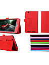 7 Inch Two Folding Pattern High Quality PU Leather Case with Stand for Acer B1-750(Assorted Colors)