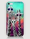 tre giraf mønster telefon sagen tilbage dække tilfældet for iphone5c