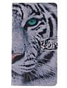 용 삼성 갤럭시 케이스 지갑 / 카드 홀더 / 스탠드 / 플립 케이스 풀 바디 케이스 동물 인조 가죽 Samsung S3