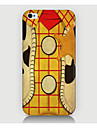 caso del modello di griglia di legno della copertura posteriore per phone4 caso / 4s