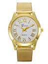 L.WEST Men's Stainless Steel Quartz Watch Wrist Watch Cool Watch Unique Watch