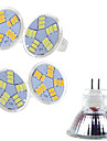 Spot Blanc Chaud/Blanc Froid Ding Yao 5 pieces MR11 7 W 15 SMD 5730 400-500 LM 2800-3500/6000-6500 K AC 12 V