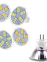 5 pcs Ding Yao 7W 15SMD 5730 400-500LM 2800-3500/6000-6500K Warm White/Cool White MR11 Spot Lights AC 12V