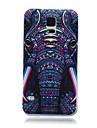 padrao de cabeca de elefante besta TPU tampa traseira macio para Samsung Galaxy S3 S4 S5 S6 s3mini s4mini s5mini S6 borda