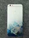 landskapsmaleri moenster TPU telefon tilfelle for iPhone 5 / 5s