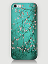 For iPhone 6 Case / iPhone 6 Plus Case Pattern Case Back Cover Case Flower Hard PC iPhone 6s Plus/6 Plus / iPhone 6s/6