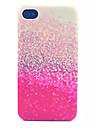 Glitter Pattern pc acidato trasparente della copertura posteriore per iPhone 4 / 4S