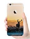 Pour Coques iPhone 6 Plus Etuis coque Coque Arrière Coque Flexible PUT pour iPhone 6s Plus iPhone 6 Plus