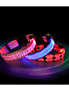 Cat / Dog Collar Waterproof / LED Lights Red / Blue / Pink Nylon