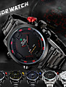 WEIDE Men Fashion Analog Digital Sport Watch Stainless Steel Stopwatch/Alarm Backlight/Waterproof Wrist Watch Cool Watch Unique Watch