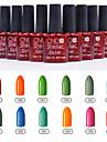 1PCS Sequins UV Color Gel Nail Polish No.85-96 Soak-off(10ml,Assorted Colors)
