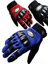 Мотоцикл перчатки Полныйпалец Нейлон/EVA M/L/XL Красный/Черный/Синий