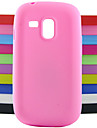 For Samsung Galaxy Case Shockproof Case Back Cover Case Solid Color Silicone Samsung S3 Mini